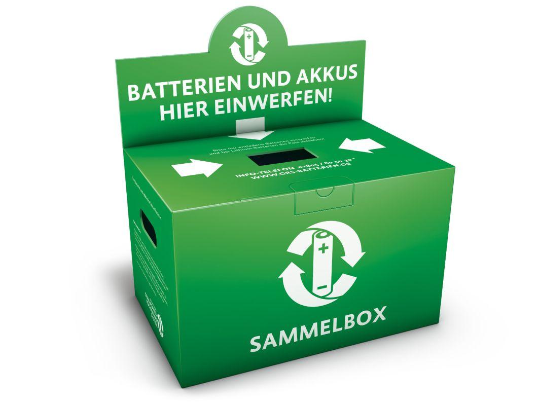 GRS Batterien Sammelkarton