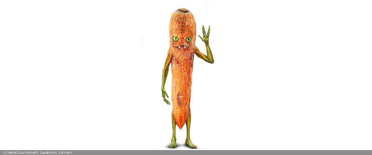 Gemüsereste-Monster