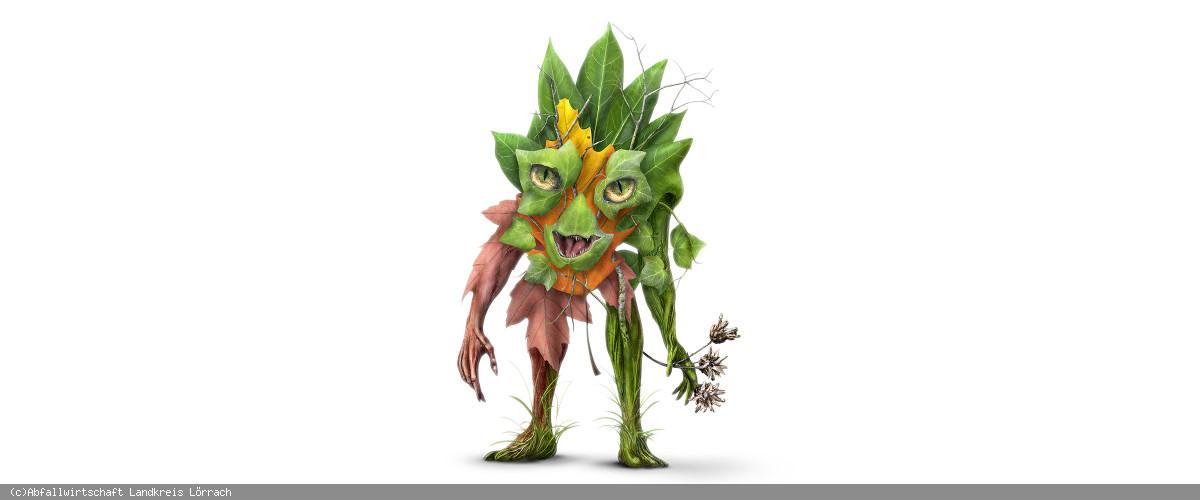 Grünabfall-Monster